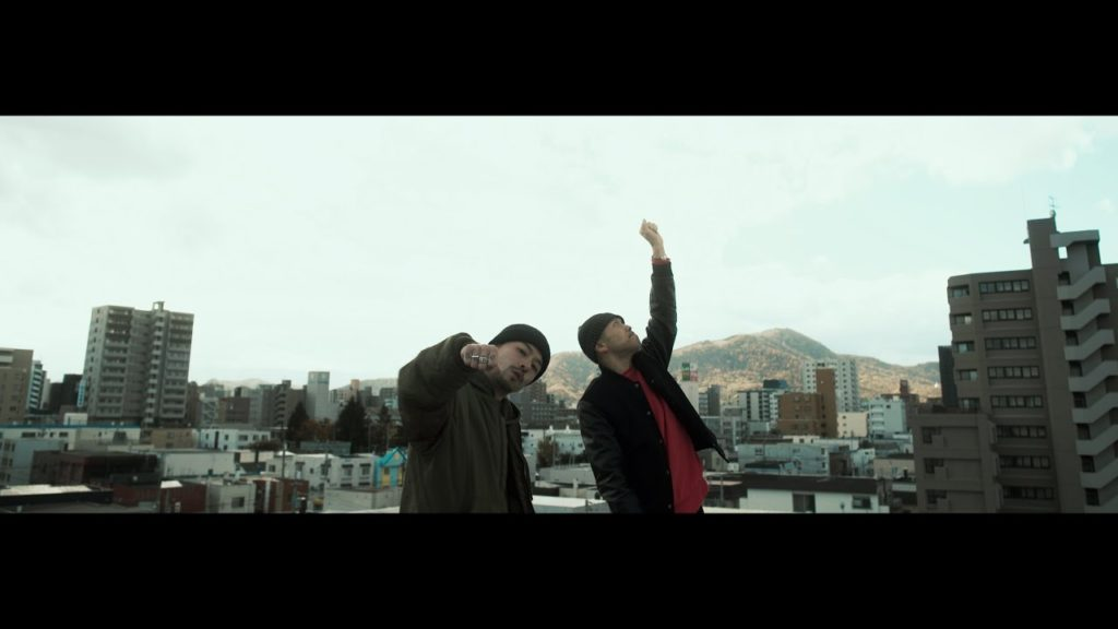 Zorn and ill bostino in the music video Life story